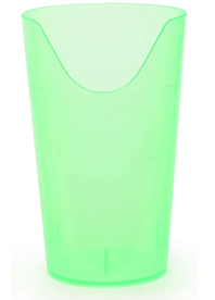 A green nosey cup